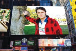 La valla publicitaria de Times Square de Nueva York exige la liberación del narcotraficante Silk Road Darknet