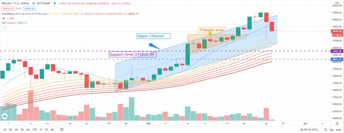 La corrección de precio más grande de Bitcoin en la historia, ¿seguirá cayendo el precio de BTC?