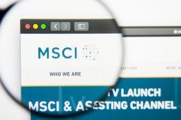 El proveedor de índices financieros globales MSCI planea lanzar índices criptográficos