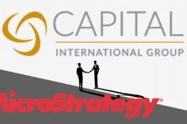 US Financial Giant Capital International Group adquiere 12,2% de participación en MicroStrategy